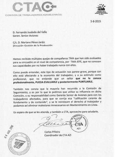Carta a Fernando Jusdado_TMA´s
