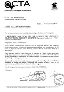 Grabación Comites Intercentros Iberia