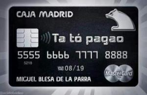 CCOO UGT Tarjetas Bankia